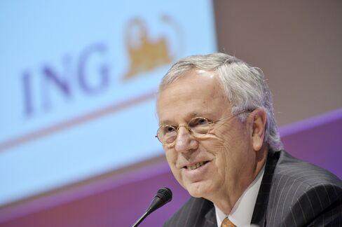 ING Groep NV CEO Jan Hommen