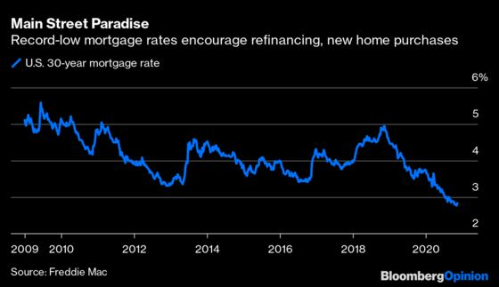 Hot Mortgage Market Is the Fed's House of Cards