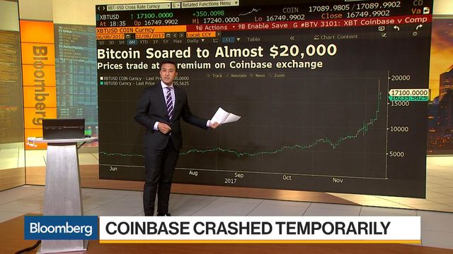 Bitcoin Craze Propels Coinbase App to No  1 in Apple's Store - Bloomberg