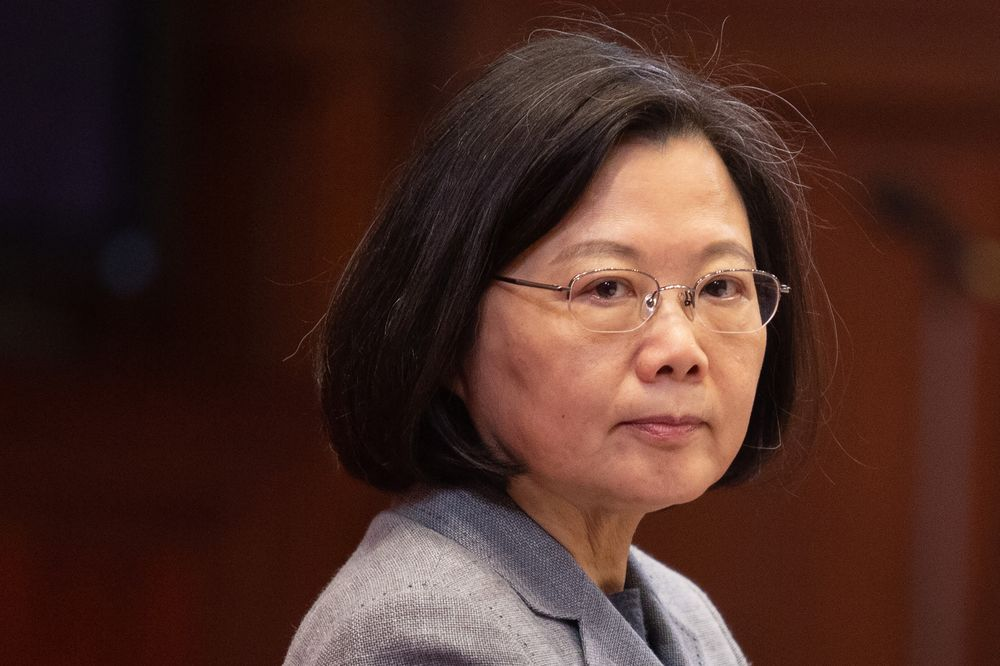 Tsai Says Taiwan's 2020 Election Will Be a Test of Its Democracy