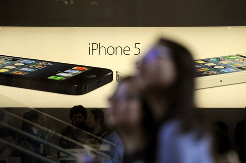 Apple Profit Probably Fell First Time Since 2003 on IPhone Slump