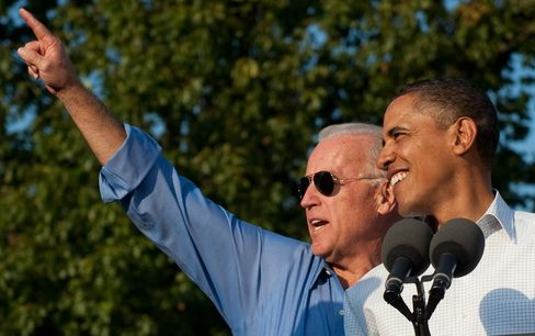 Biden, Obama's Traveling Salesman, Makes Hard Sell to Voters