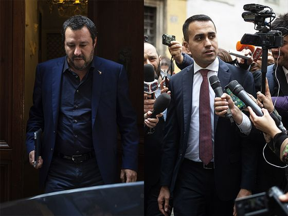 Italian Populists Seal Pact to Challenge EU Establishment