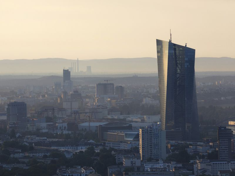 ECB President Draghi Announces Rate Decision