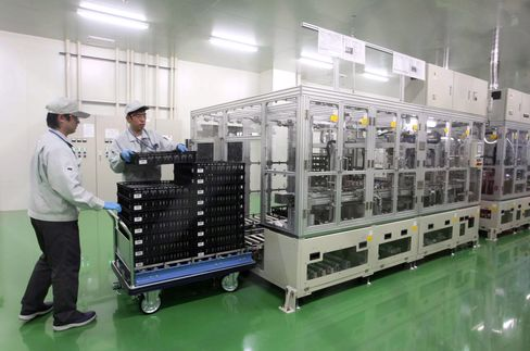 Panasonic, Samsung SDI Battery Price War May Intensify on Gl