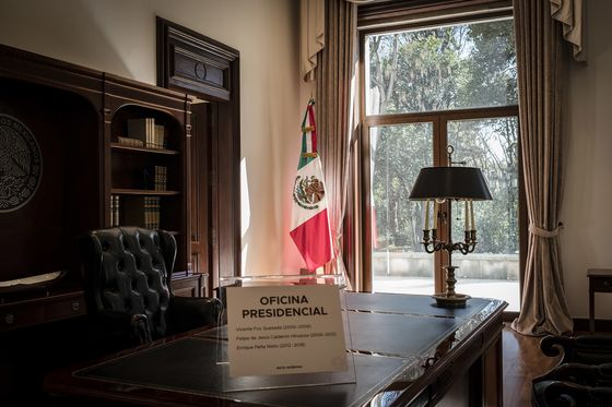 Mexican Public Gets First Look at 'Haunted' Presidential Home