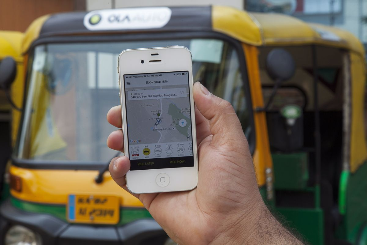 SoftBank-Backed Ola Sets Up Shop on Uber's American Home Turf