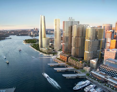 Packer's Crown Beats Echo Over $912 Million Sydney Casino Tower