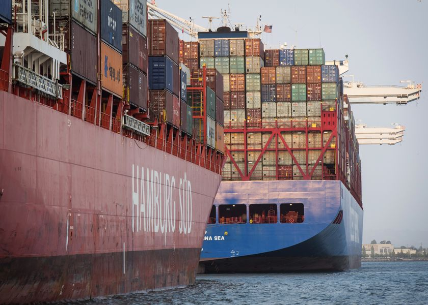 Port Of Oakland As Trump To Pull Tariff Trigger