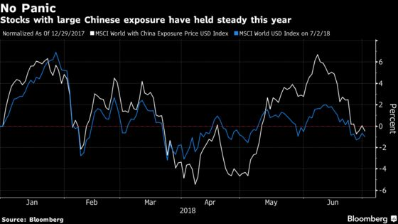 There'sNo Global Panic Over Sliding Yuan—For Now