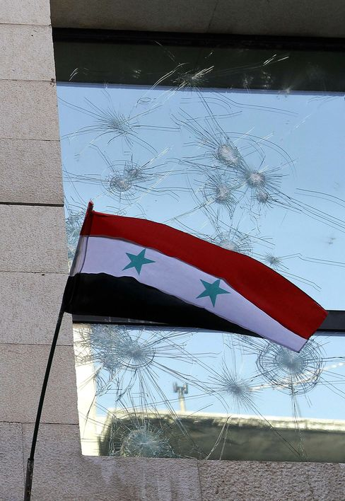 Syria Boosts Security at U.S. Embassy