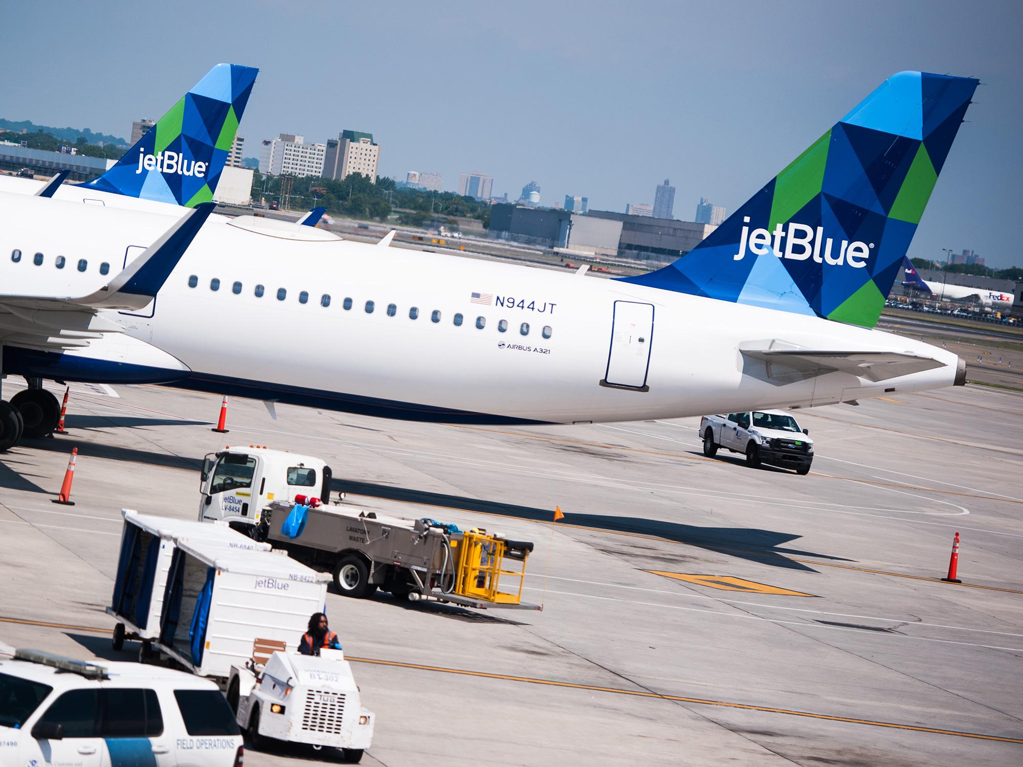 Inside JetBlue Airways Corp. Terminal 5 At JFK Ahead Of Earnings Figures