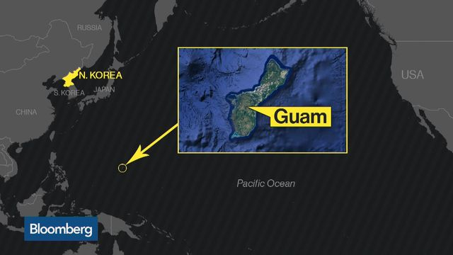 Us allies warn north korea against firing missiles at guam permalink tensions rise over north korea gumiabroncs Gallery