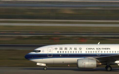 中国南方航空機