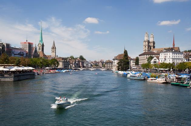 No. 6 (tie): Zurich