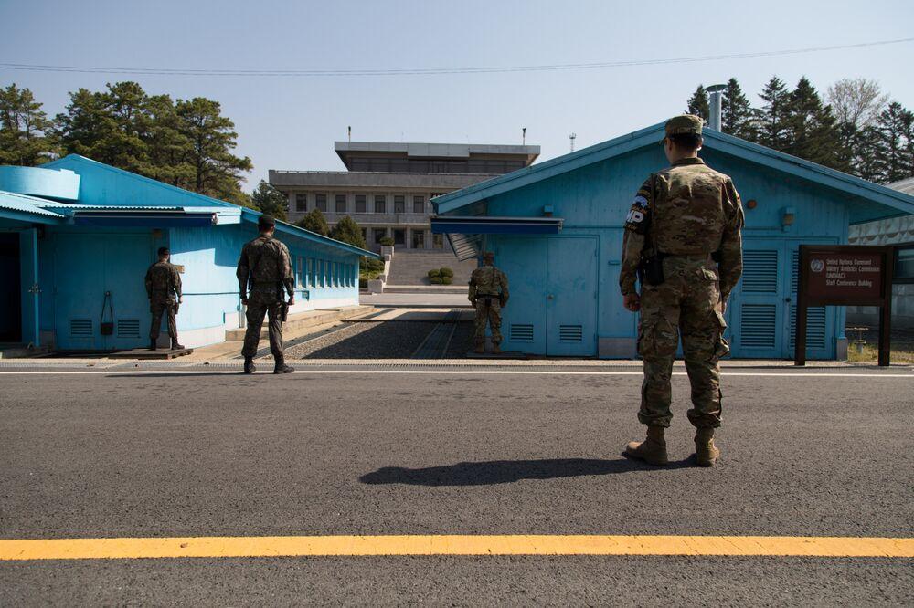 Chính quyền Kim Jong Un có thể gửi quân đội đến khu phi quân sự liên Triều