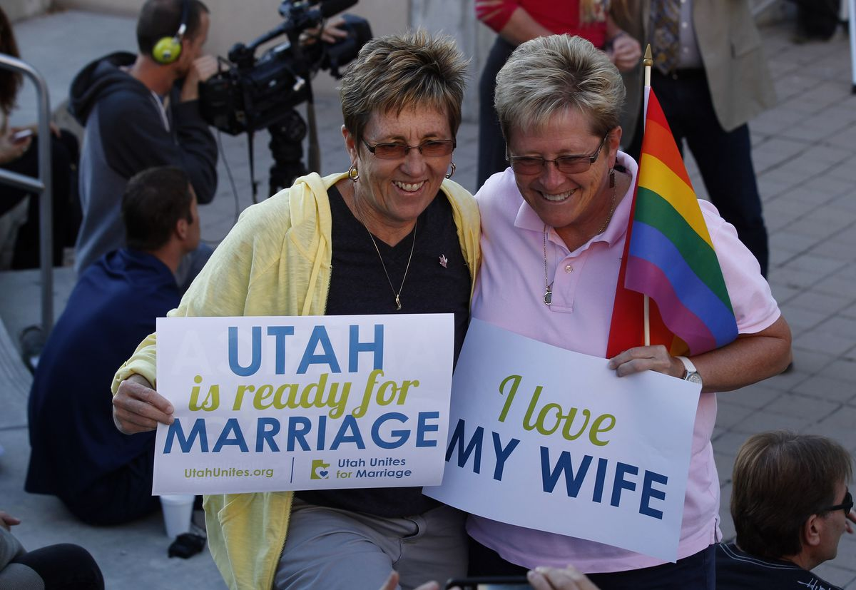 Liberal and gay marriage