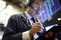 Dow Jones Industrials Average Opens Slightly Higher, After Yesterday's Large Drop