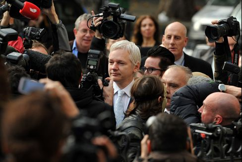 WikiLeaks's Assange Loses U.K. Extradition Appeal
