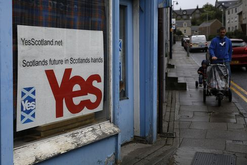 Pound's Volatility Surges by Most Since 2008 as Scots Vote Looms