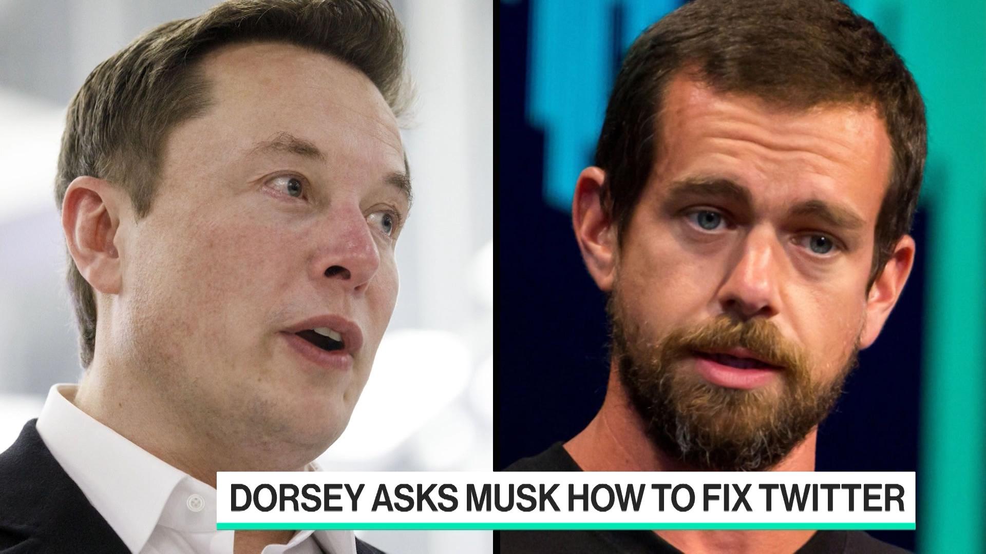 Jack Dorsey Asks Elon Musk How to Fix Twitter