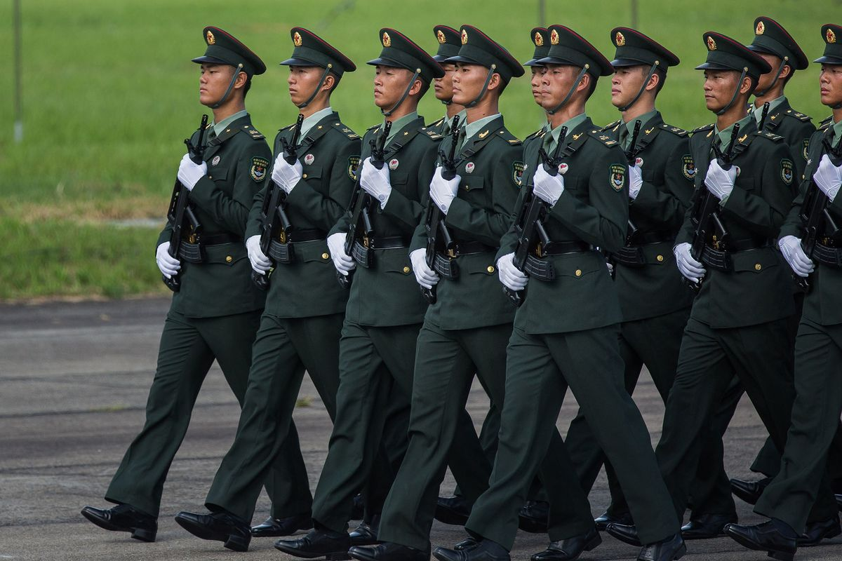 China Military Spending Quickens as Xi Seeks 'World Class' Force thumbnail