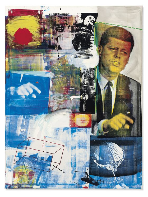 JFK Canvas Bought After His Death Poised to Return 300,000%