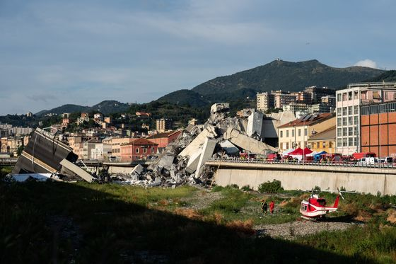 Bridge Disaster - Italy's Moment of Truth