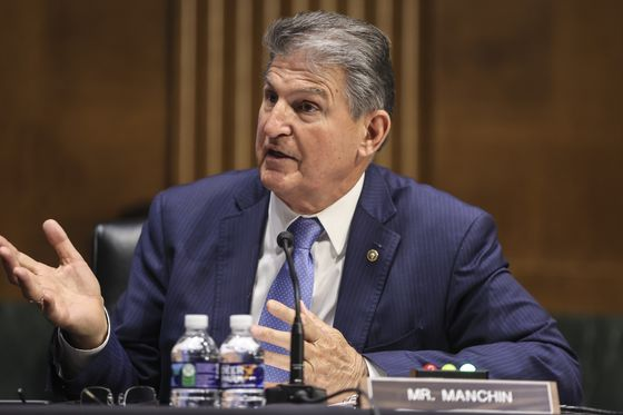 Manchin Urges Focus on 'Conventional' Infrastructure