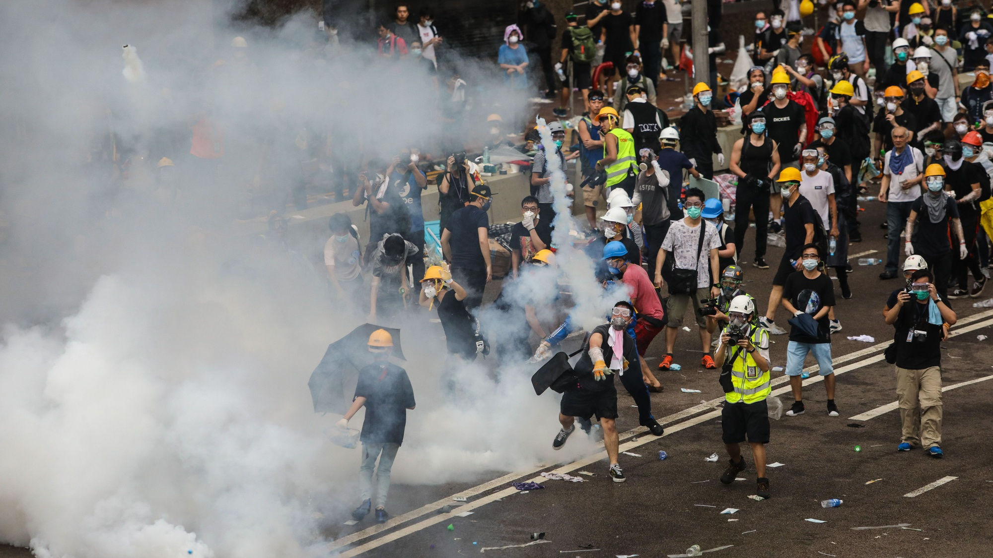 Hong Kong Extradition Bill Protest Updates: Police Fire Tear