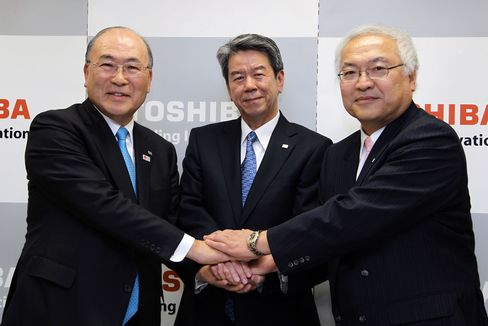 Toshiba Incoming CEO Hisao Tanaka News Conference