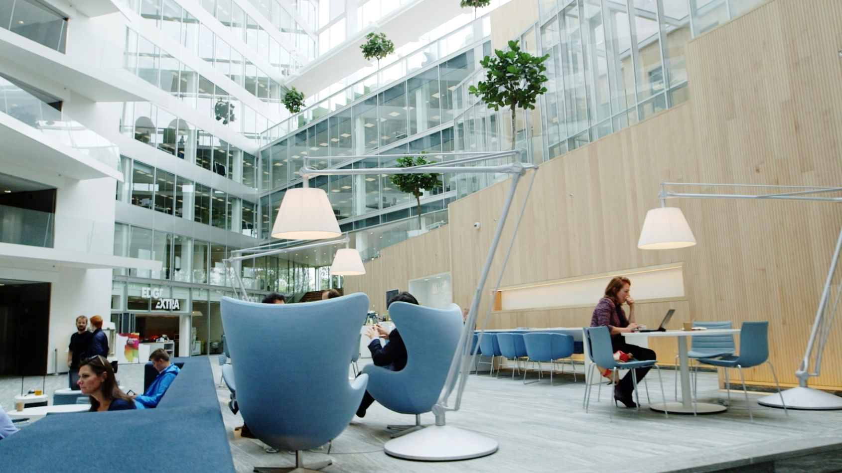 See The World S Greenest Office Building The Edge Bloomberg
