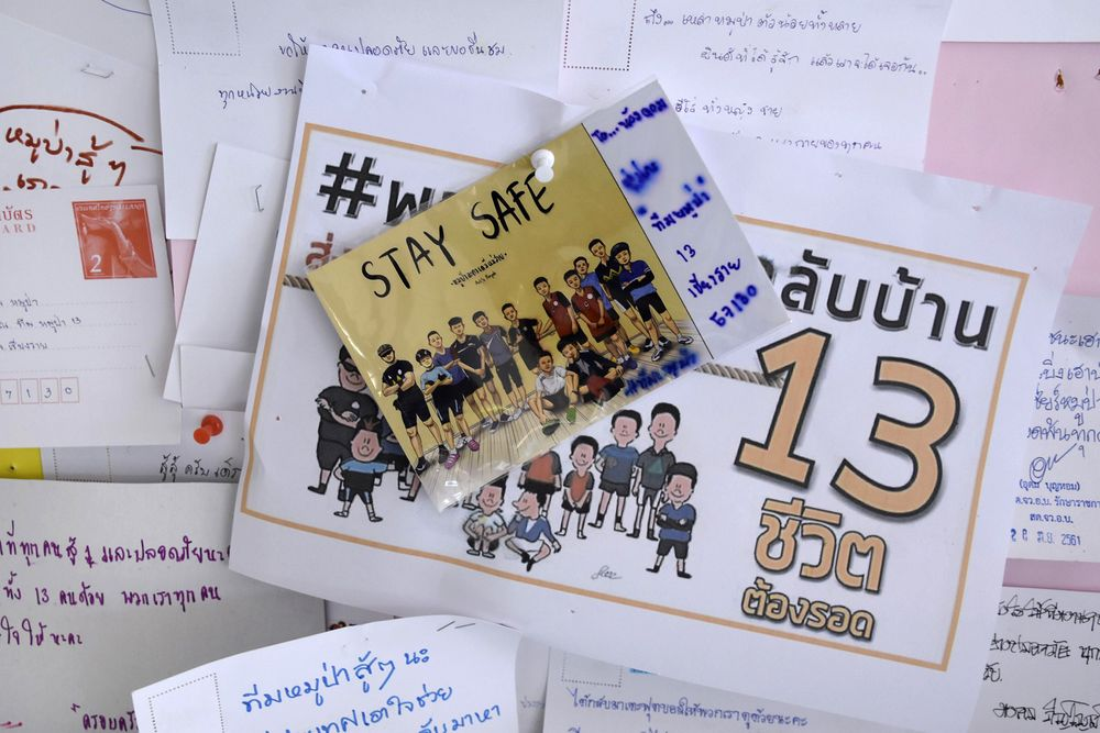 Rescued Thai Soccer Team Unable to Attend World Cup Final - Bloomberg