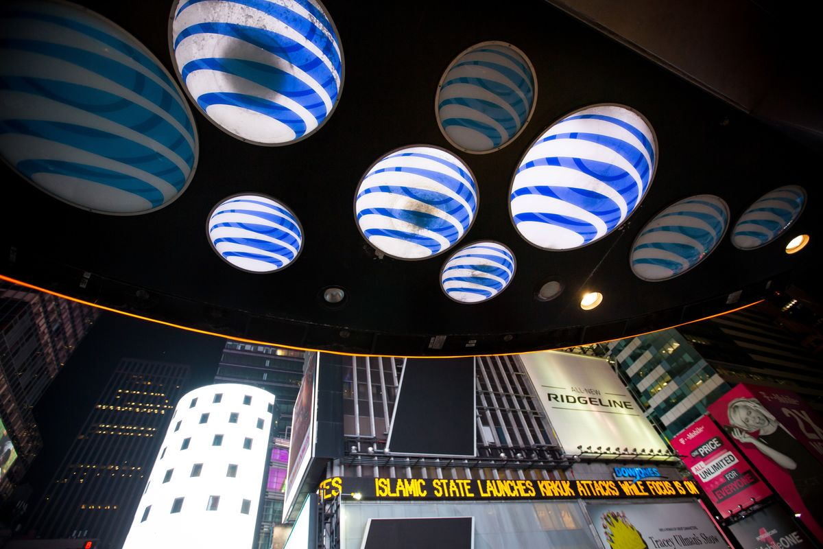 Time Warner Shares Fall on Report That AT&T Deal May Get Blocked