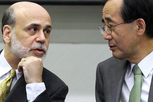 From Governor Bernanke to Governor Shirakawa