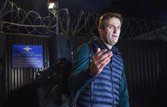 Navalny'sGrudge Match With Russian General Takes New Turn
