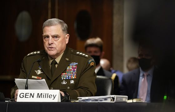 Milley Says China Calls Were Coordinated With Trump Aides
