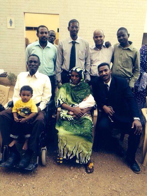 Meriam Yehia Ibrahim and Family