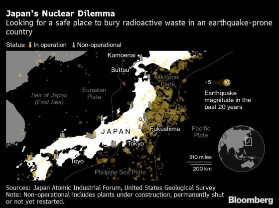 Villages in Japan Are Competing to Become a Nuclear Waste Site