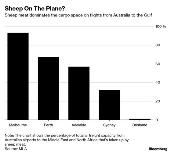 Airline Cargoes Filled With Meat as Gulf Route Transforms Trade