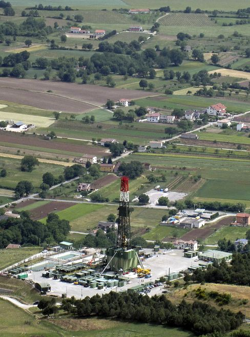 Oil Fields Under Olive Groves Offer Italy Economic Boost
