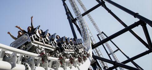 Inside Six Flags Magic Mountain Amusement Park Ahead Of Earnings Figures