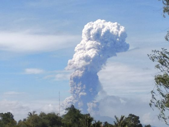 Indonesia Rocked by Volcano, Days After Earthquake Killed More Than 1,200