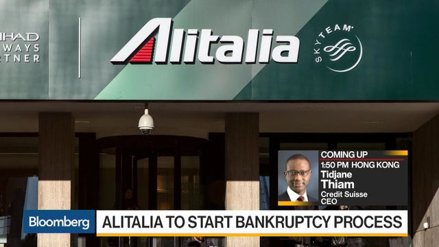 Alitalia's Board made a decision to commence Bankruptcy Process