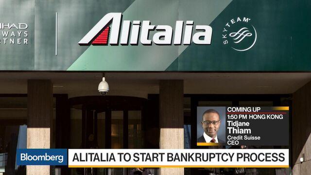 Alitalia starts bankruptcy proceedings as turnaround fails