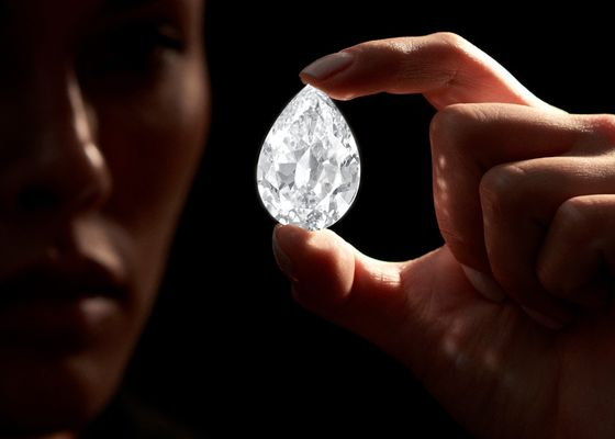 Cryptocurrency Could Buy You a 101-Carat Diamond at Sotheby's