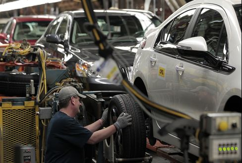 GM's $14-an-Hour Jobs Split UAW With Poverty-Level Wage