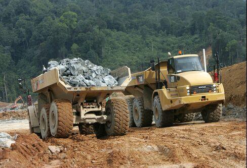 Caterpillar Inc. Heavy Machinery Operates