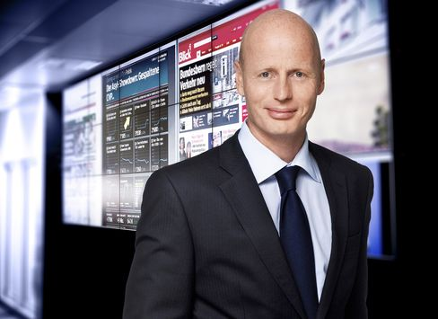 Ringier Chief Executive Officer Marc Walder