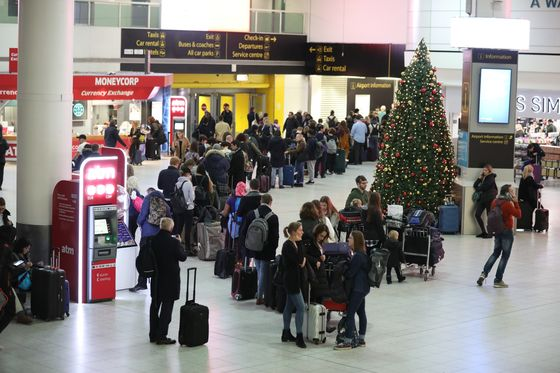 Police Arrest Two Over Drones After Gatwick Resumes Flights